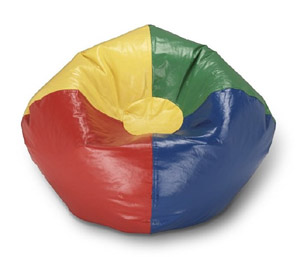 Google Chrome-themed beanbag chair