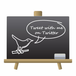 WebDesignerDepot.com Twitter Chalkboard